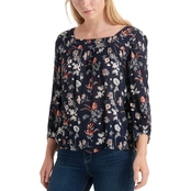 Lucky Brand Square Neck Blouse
