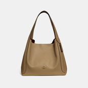 COACH Hadley Pebble Leather Hobo