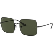 Ray-Ban Black/Green Square Sunglasses 0RB1971914831
