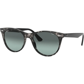 Ray-Ban Grey Havana / Evolve Gray Gradient Blue Wayfarer Sunglasses 0RB21851250AD
