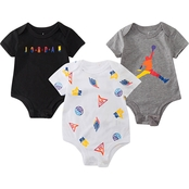 Jordan Infant Boys Bodysuit 3 pk. Set
