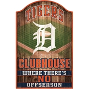 WinCraft MLB 11 x 17 in. Wood Sign