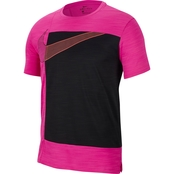 Nike Superset Short Sleeve Graphix Top