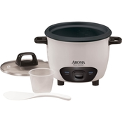 Aroma 6 Cup (Cooked) Pot-Style Rice Cooker
