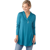 Passports Envelope Neck Tunic