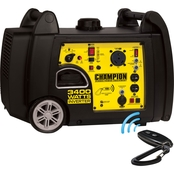 Champion 3400-Watt RV Ready Portable Inverter Generator with Wireless Remote Start