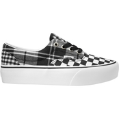 Vans Era Platform Check Black Shoes