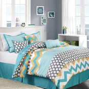 Nanshing Nolan Reversible Comforter 7 pc. Set
