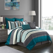 Nanshing America Inc Avalon 8 pc. Comforter Set