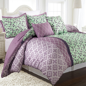 Nanshing Abigail Reversible Comforter 5 pc. Set