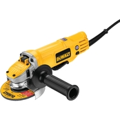 DeWalt Paddle Switch Small Angle Grinder 4.5 in.