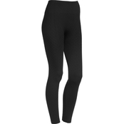 JW Jacquard Fleece Lined Leggings