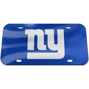 WinCraft NFL Football Crystal Mirror License Plate