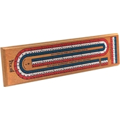 Bicycle 3 Track Cribbage Board