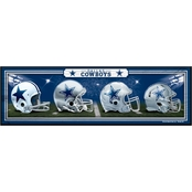 WinCraft NFL Football 9 x 30 in. Wooden Team Sign