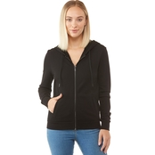 ARMANI EXCHANGE LOGO ZIP UP HOODIE