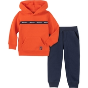 Nautica Infant Boys 2 pc. Hoodie and Pants Set