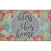 Mohawk Home 18 x 30 in. Bless This Home Doormat