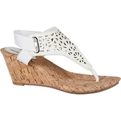 Avenue Vicki Perforated Wedge Sandal