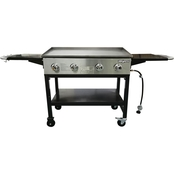 GrillSmith 36 in. 4 Burner Griddle Grill
