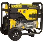 Champion 6500-Watt Portable Generator with Wheel Kit