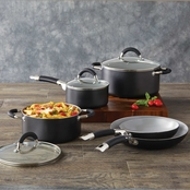 Simply Perfect 8pc Aluminum Cookware Set