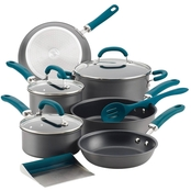 Rachael Ray Cookware 11 pc. Set, Teal