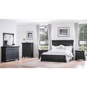 Abbyson Harlowe 6 pc. Bedroom Set