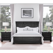 Abbyson Harlowe 3 pc. Bedroom Set