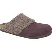 White Mountain Beckham Suede Sweater Clogs