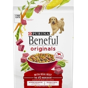 Purina Beneful Original Beef Adult Dry Dog Food, 14 lb. Bag