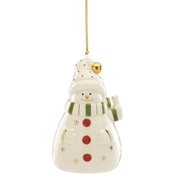 Lenox Snowman Recordable Ornament