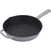 Emeril Enameled Cast Iron Grey Skillet