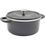 GreenPan Simmerlite Ceramic Non Stick Dutch Oven with Lid, 4.5 qt.