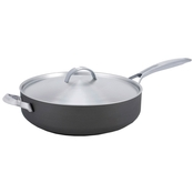 GreenPan Paris Pro 4QT Ceramic Non-Stick Sauté Pan with Helper Handle