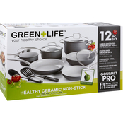 GreenLife Classic Pro 12pcs Ceramic Non-Stick Cookware Set