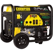 Champion 7500-Watt Dual Fuel Portable Generator with Electric Start