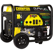 Champion 8000W Dual Fuel Portable Generator with Electric Start