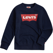 Levi's Little Boys' Fleece Batwing Pullover Crew