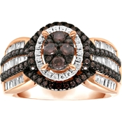 10K Rose Gold 1 CTW Diamond Bridal Ring