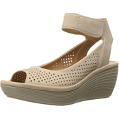 Clarks Reedly Salene Wedge Sandals