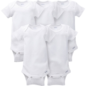 Gerber Infants Onesies Brand 5 Pk.