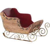 Lenox Wood Sleigh Serving Centerpiece