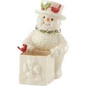 Lenox Snowman Treat Dish
