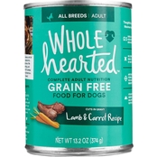 WholeHearted Grain Free Adult Lamb and Carrot Recipe Wet Dog Food