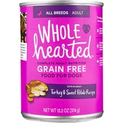 WholeHearted Grain Free Adult Turkey and Sweet Potato Recipe Wet Dog Food