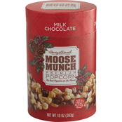 Harry & David Holiday Moose Munch Milk Chocolate 10 oz. Limited Edition Canister