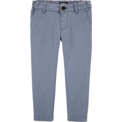 OshKosh B'gosh Toddler Boys Flat Front Pigeon Pants