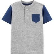 OshKosh B'gosh Toddler Boys Pocket Henley Tee