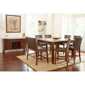 Steve Silver Eileen 8 pc. Counter Dining Set with Bench